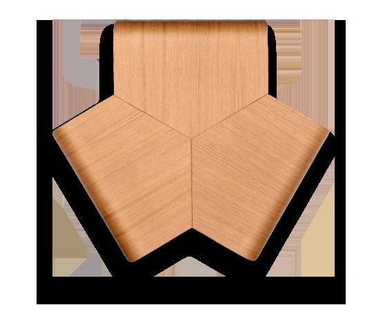 שולחן אירוח משרדי מעץ