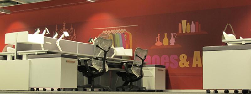 ריהוט משרדי בחברת ebay ישראל